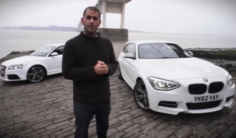 Video Chris Harris Compares BMW M135i vs Audi RS3