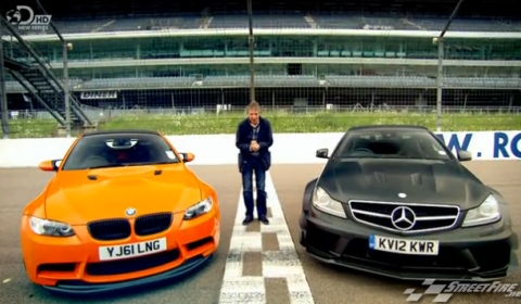 Mercedez Benz on Fifth Gear Tests Bmw M3 Gts Vs Mercedes Benz C63 Amg Black Series