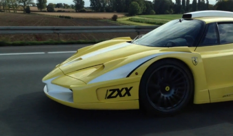 Video Loud Edo Competition Enzo ZXX on German Autobahn