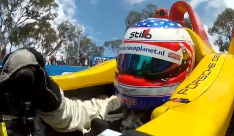 Video Porsche RS Spyder Laps Bathurst Race Track