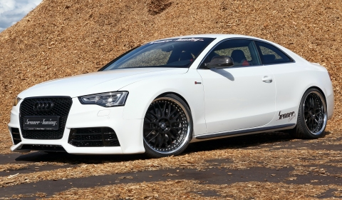 Audi  Black on Official  2012 Audi S5 Coupe With Rs5 Styling By Senner Tuning