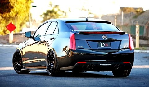 2012 Cadillac ATS by D3 Group