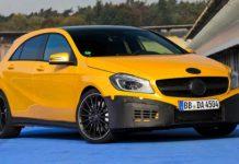 2013 Mercedes-Benz A 45 AMG Official Teaser Images