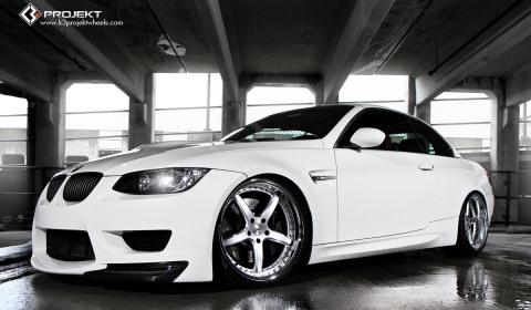 BMW E93 M3 on 20 Inch K3 Projekt Wheels