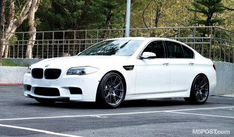 BMW F10 M5 with Arkym J12 Wheels