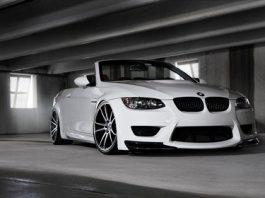 BMW E93 M3 Convertible on Concavo CW-S5 Wheels