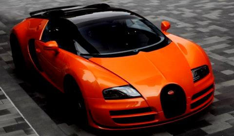 Bugatti Grand Sport Vitesse at Route 66