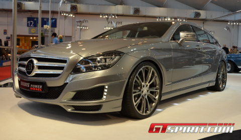 Essen 2012 Brabus CLS 350 CDI Power Diesel Shooting Brake