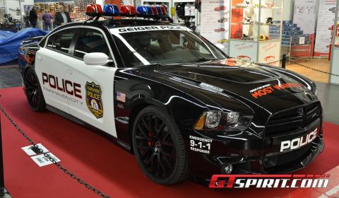 Essen 2012 Dodge Charger SRT8 Police Edition by Geiger