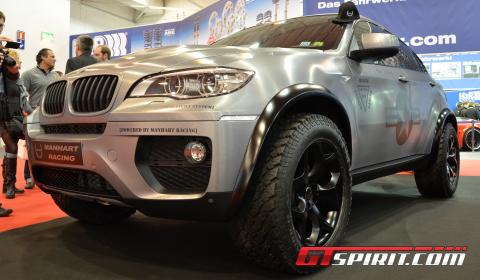 Essen 2012 Manhart Racing MHX6 Dirt Edition