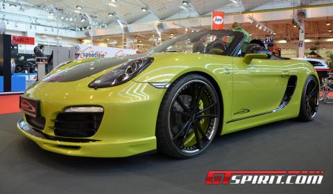 Essen 2012 SpeedArt SP-81R based on Porsche Boxster S