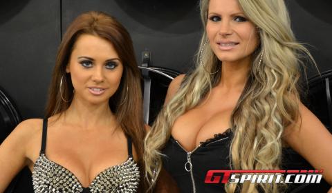 Essen Motor Show 2012 Girls Part 1