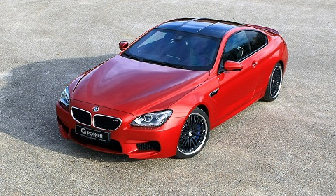 2013 BMW F12M M6 by G-Power