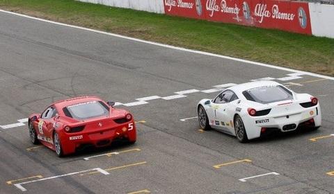 Ferrari Corso Pilota Challange at Varano Circuit
