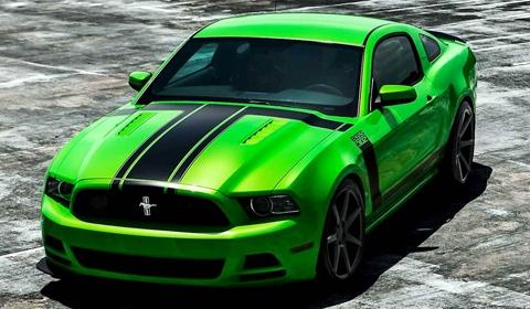 Ford Mustang 302 Boss on Vossen Wheels