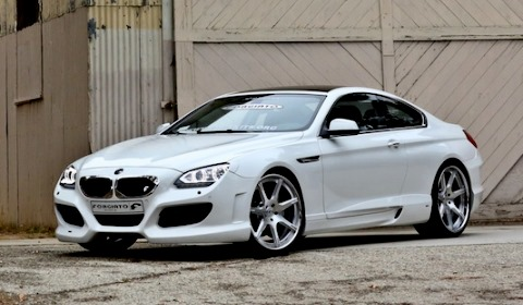 Hamann BMW 640i F13 with F2.06 Forgiato Wheels