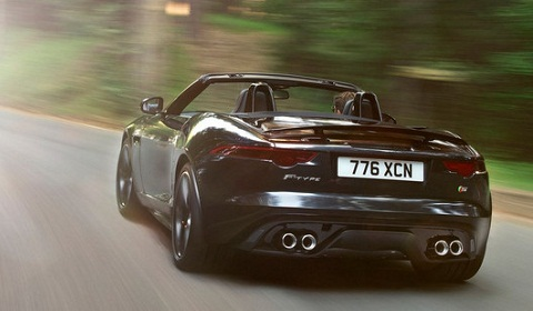 Jaguar F Type Black Pack