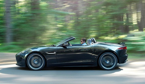 Jaguar F Type Black Pack