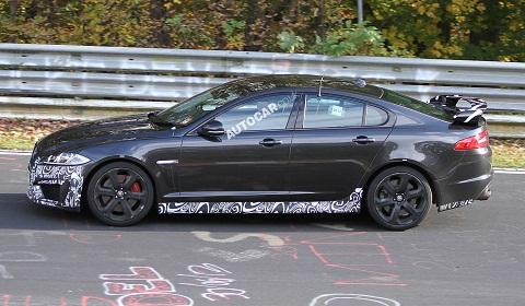 Jaguar XFR-S Testing at the Nurburgring