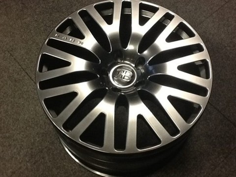 Kahn Design Bugatti Veyron Wheel