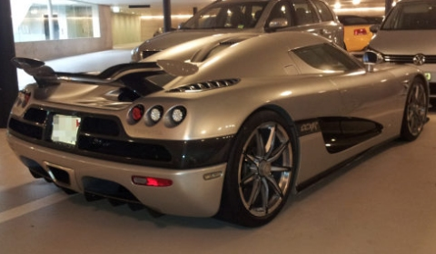 Koenigsegg Trevita Left Untouched for Weeks in Public Garage 01