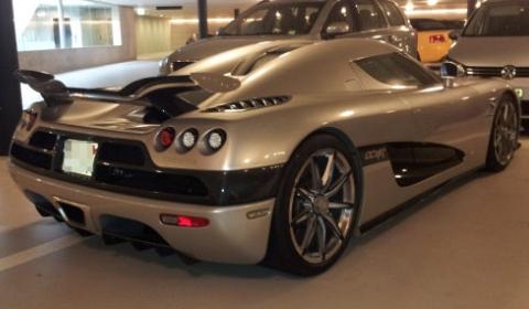 Koenigsegg Trevita Left Untouched for Weeks in Public Garage 01