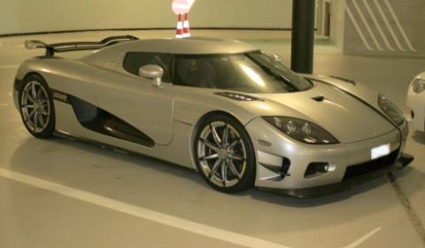 Koenigsegg Trevita Left Untouched for Weeks in Public Garage