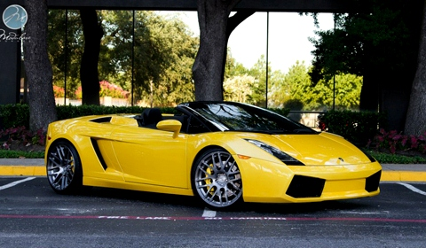 Lamborghini Gallardo Spider by Modulare Wheels