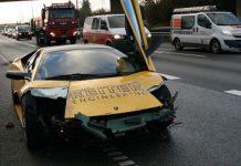 Lamborghini Murcielago Crash