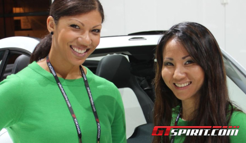Los Angeles Auto Show 2012 Girls Part 1