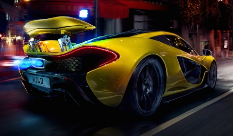 McLaren P1 Concept in Action by Wild-Speed