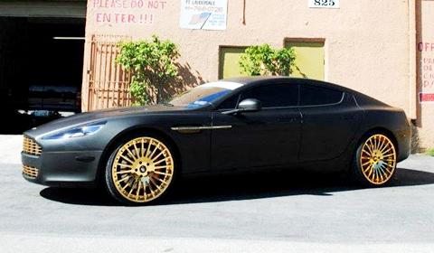 Meek Mill Aston Martin Rapide with Forgiato Wheels