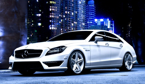 Mercedes Benz CLS on Vossen Wheels