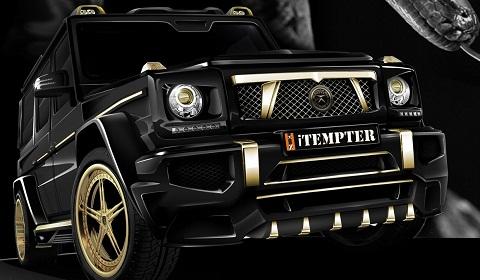 Official Mercedes Benz G Class Itempter By Dartz 超高級車の