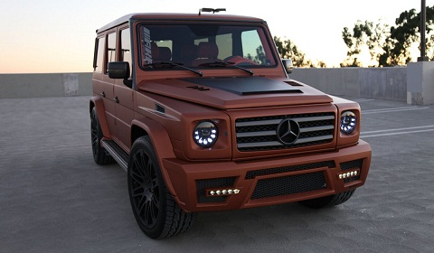Mercedes-Benz G55 AMG by Copper Edition by AKA Eurosport