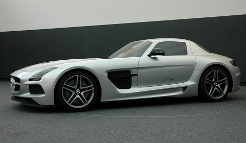 Mercedes-Benz SLS AMG Black Series Design Process