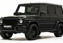 Official Mercedes-Benz G 63 AMG by Brabus
