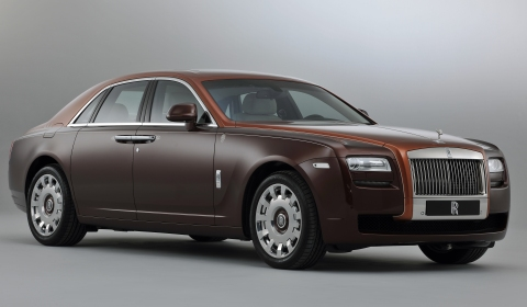 Official: Rolls-Royce 1001 Nights Ghost Collection