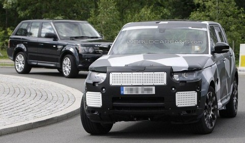 2014 Range Rover Sport RS Spyshot