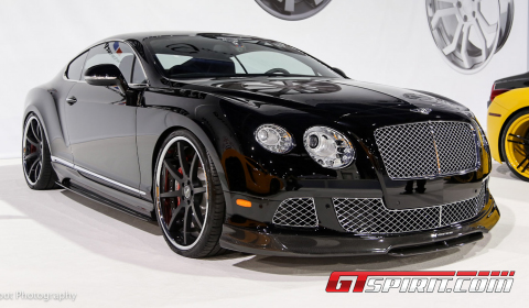 SEMA 2012 Bentley Continental BR-10 by Vorsteiner