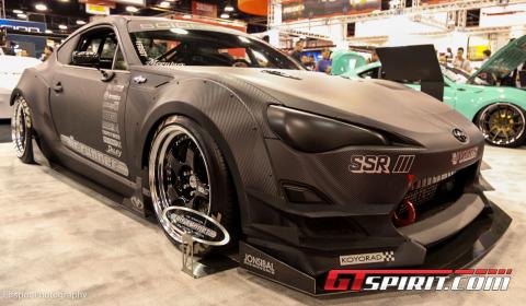 american car maker scion displays three custom versions of the fr s