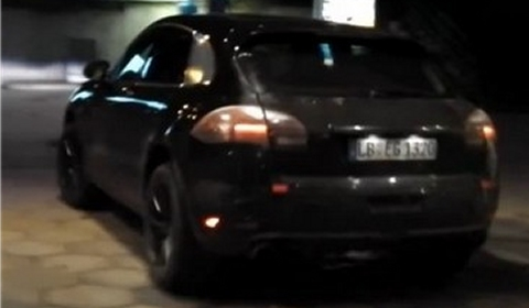 Spyvideo 2014 Porsche Macan Almost Completely Undistinguished