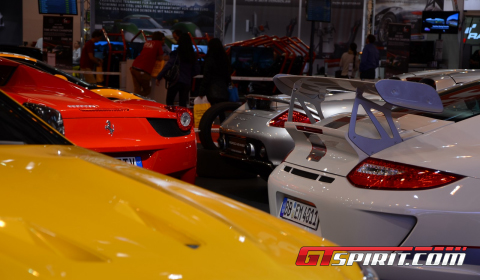 Supercars at Essen Motor Show 2012 Part 2