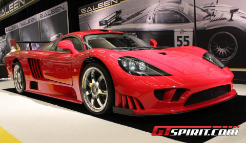 Supercars at Los Angeles Auto Show 2012