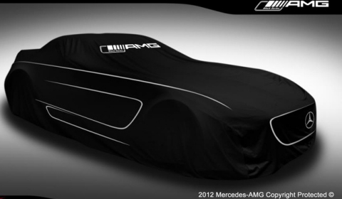 Teaser 2013 Mercedes-Benz SLS AMG Black Series