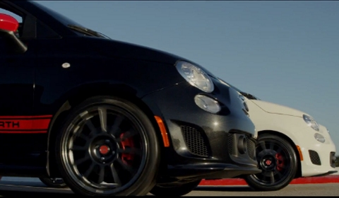 Video 2013 Fiat 500 Abarth Cabrio Teased by Fernando Alonso and Felipe Massa