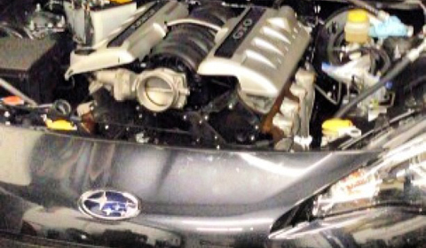 Subaru BRZ with LS2 engine by Weapons Grade Performance