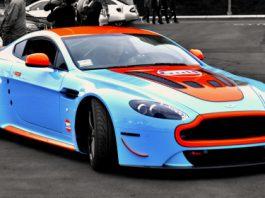 2012 Aston Martin Vantage V12 Gulf by Vinyl Styles