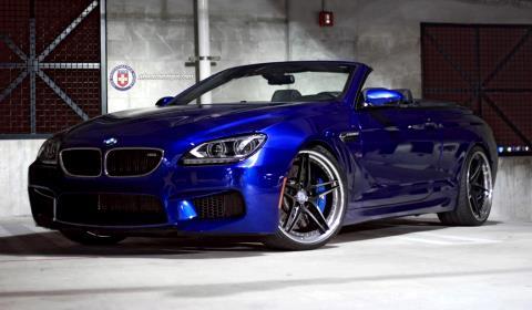 2013 BMW M6 F12 with 21 inch HRE S107 Wheels