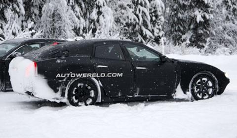 Maserati Ghibli caught testing in Sweden 2